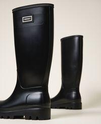 Rain boots with logo