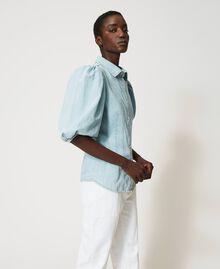 Camicia in jeans Denim Chiaro Donna 211TT2373-03