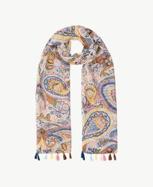Sciarpa stampa Stampa Paisley Donna SS8F9J-01