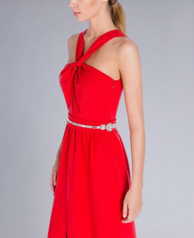Robe longue Rouge NCN2CB-05