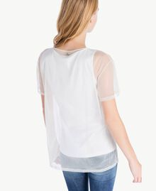 Tulle T-shirt and top White Female PA724A-03