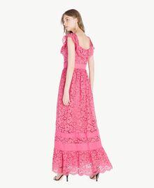 Robe longue dentelle Pink Provocateur Femme TS828N-03