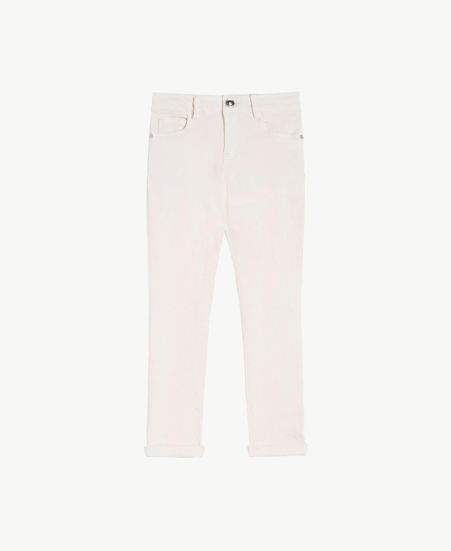Skinny trousers Pale Cream Child GS82CP-01