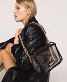 Bea Bag en PVC avec chaîne à bandoulière Gris Femme 201TO8200-0S