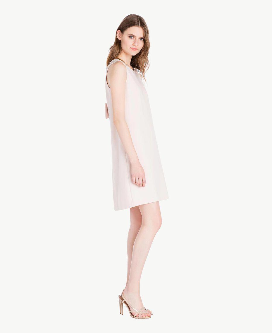 Lace dress Pale Ecru Woman PS828T-02