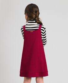 Jupe-salopette avec poches Rouge Ruby Wine Enfant 192GJ2223-03
