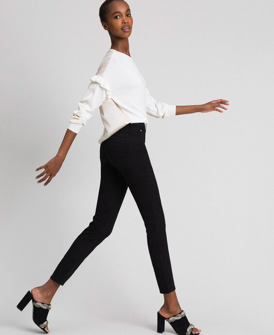 Skinny trousers with five pockets
