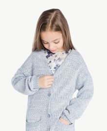 Cardigan long Bleu Infini Enfant GS83CB-05
