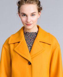 Manteau oversize en drap avec col Brandy Femme PA826N-04