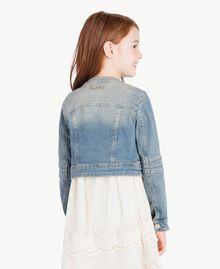 """Denim jacket """"Mid Denim"""" Blue Child GS82T1-04"""