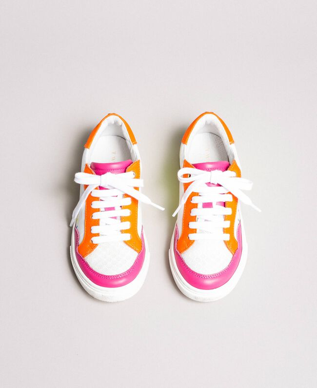 """Colour block sneakers """"Crystal Pink"""" Child 191GCJ032-04"""