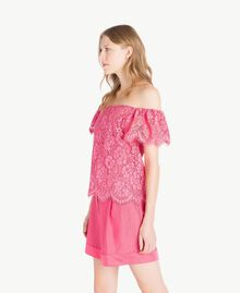 Top pizzo Provocateur Pink Donna TS828S-02