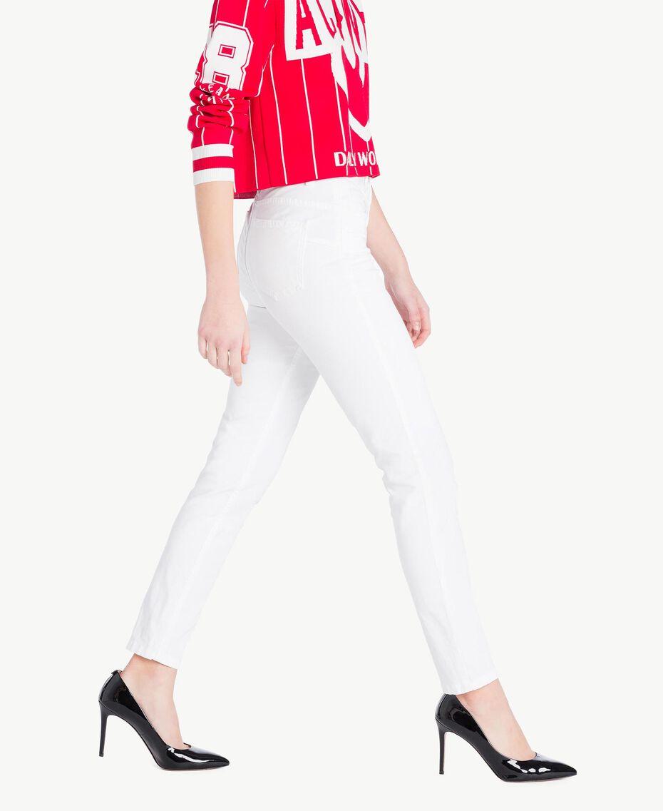 Skinny trousers White Woman JS82Z1-02