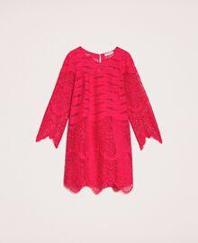 Robe en dentelle macramé Griotte Femme 201TP2030-0S