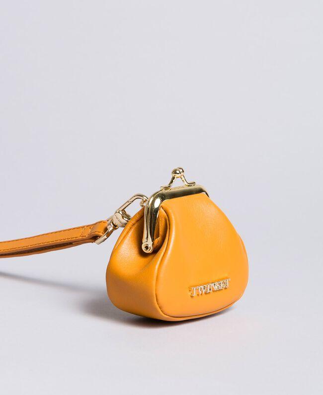 Porte-monnaie en cuir avec bandoulière Brandy Femme AA8PMN-01