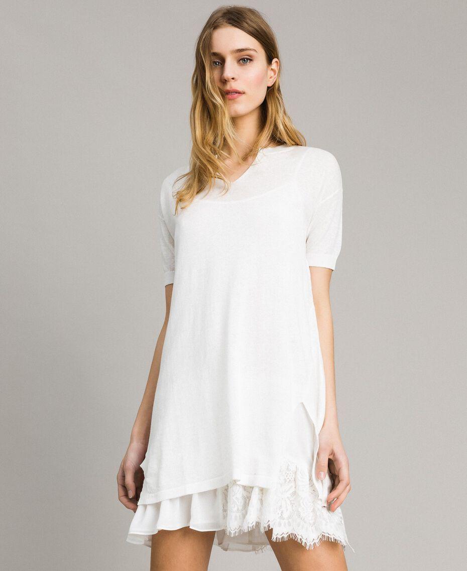 Mini robe avec fente Off White Femme 191ST3102-01