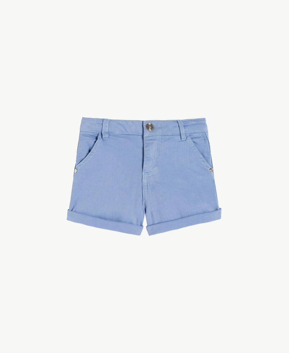 Short coton Bleu Infini Enfant FS82CQ-01