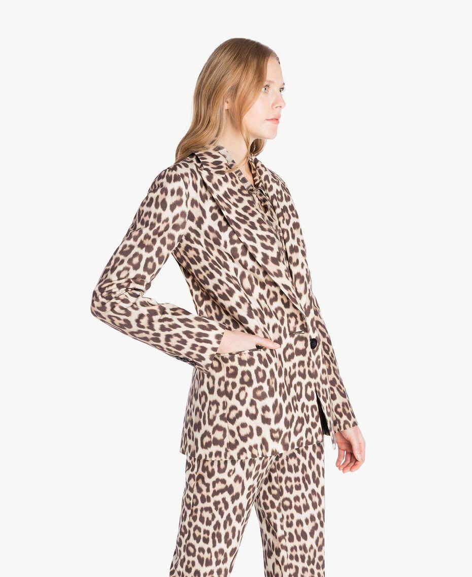 Animal print jacket Animal Print Woman PS824G-02