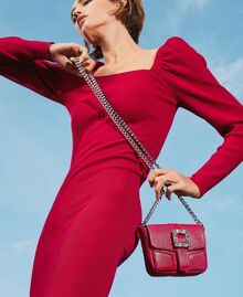 Small Rebel shoulder bag with jewel buckle Black Cherry Woman 202TB7140-0S
