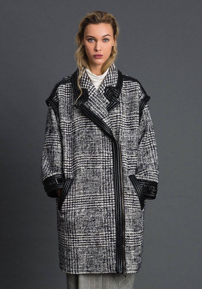 Manteau en drap Prince de Galles
