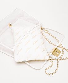 Large shoulder bag with pochette White Woman 201TA7181-02