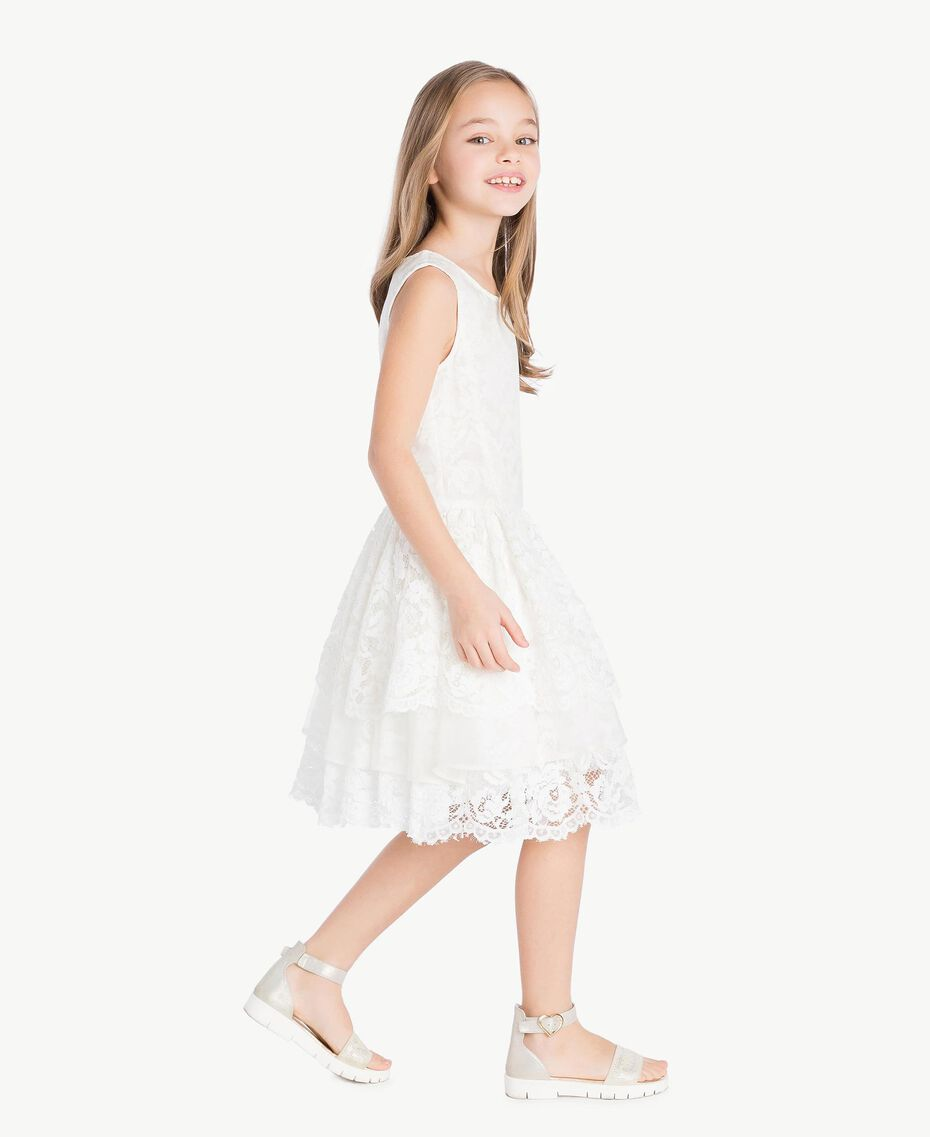Robe soie Chantilly Enfant GS8LD1-03