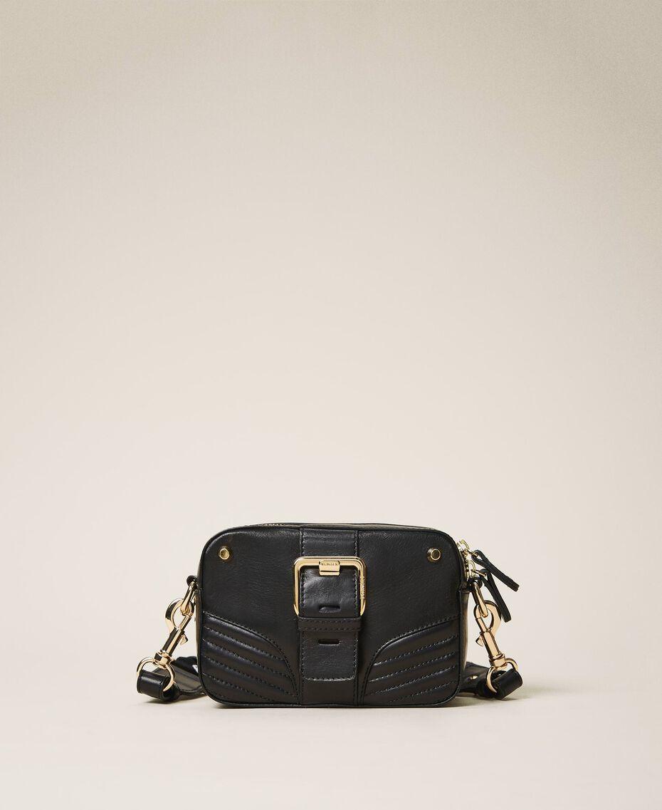 """Kleine """"Rebel""""-Camera-Bag mit Umhängeriemen Leder Frau 202TB723R-01"""