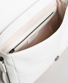 Rebel leather shoulder bag White Snow Woman 191TA7233-05