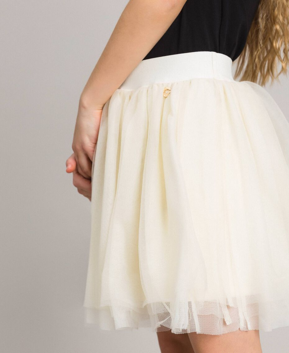 Tulle skirt Pale Cream Child 191GJ2700-0S