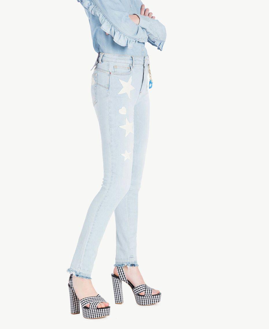 Skinny jeans Denim Blue Woman JS82WM-02