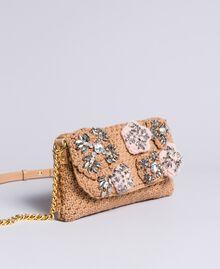 Sac à bandoulière crochet avec patchs Chameau Femme AA8PJ1-01