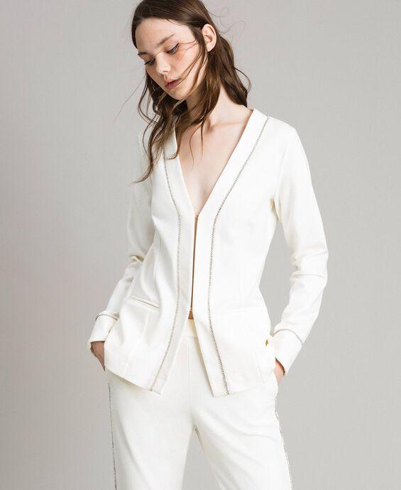 Veste blazer strassée