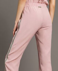 """Jogginghose mit Pailletten """"Pink Bouquet"""" Pink Frau 191LB2LDD-04"""