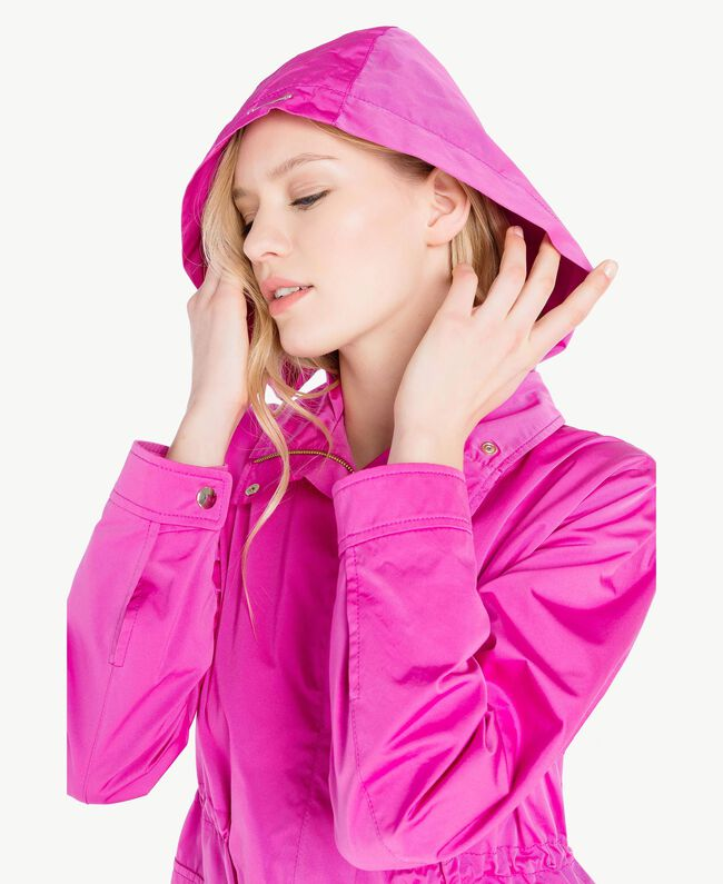 Technical fabric parka Fuxia Woman PS82J4-04