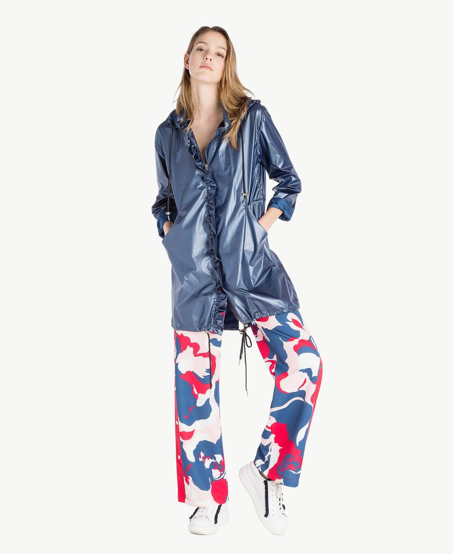 Parka laminato Dallas Blue Donna LS84BB-02