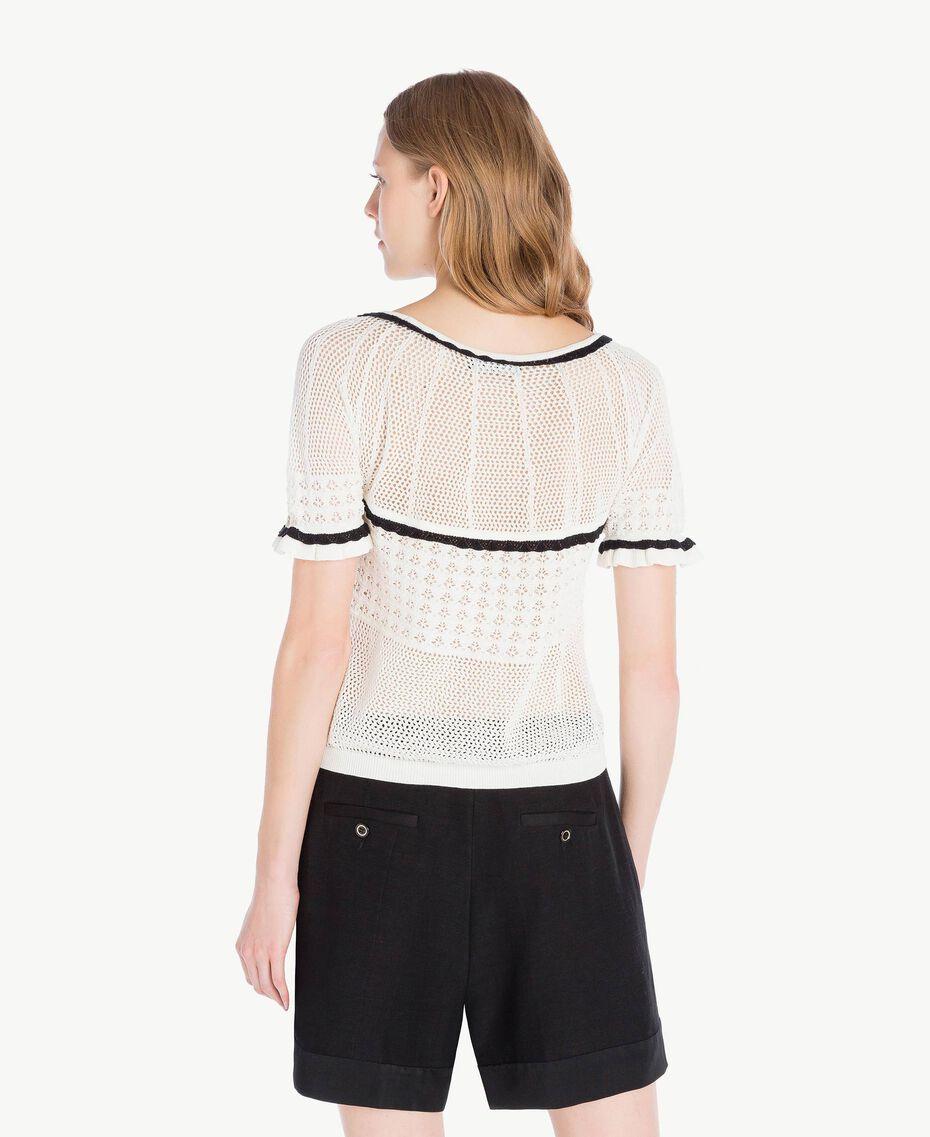 Top coton Nacre Femme TS83AP-03