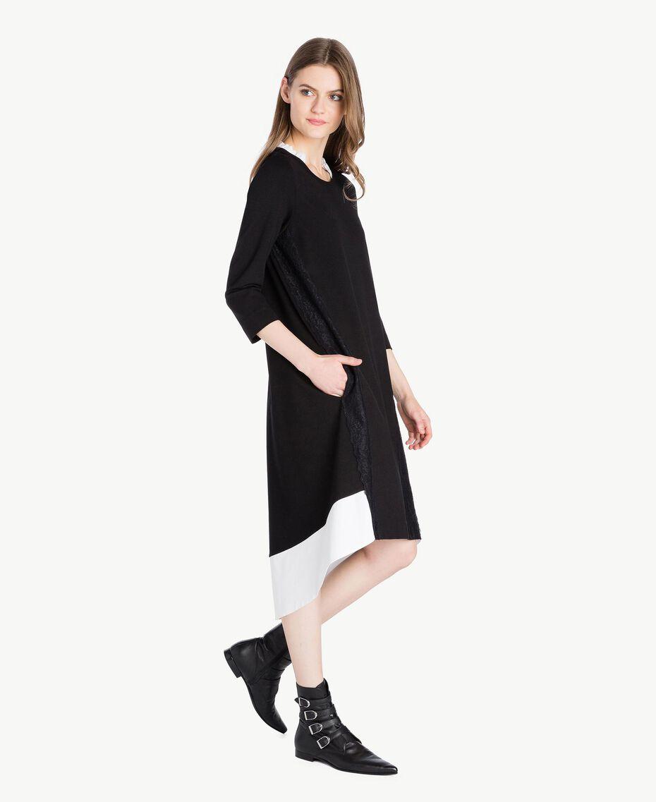 Lace dress Black Woman PS828R-02