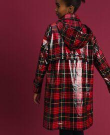 Manteau à carreaux Jacquard Tartan Grenadier Femme 192TP2550-03