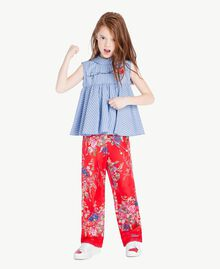 Striped top Infinite Light Blue Jacquard Child GS82LR-06