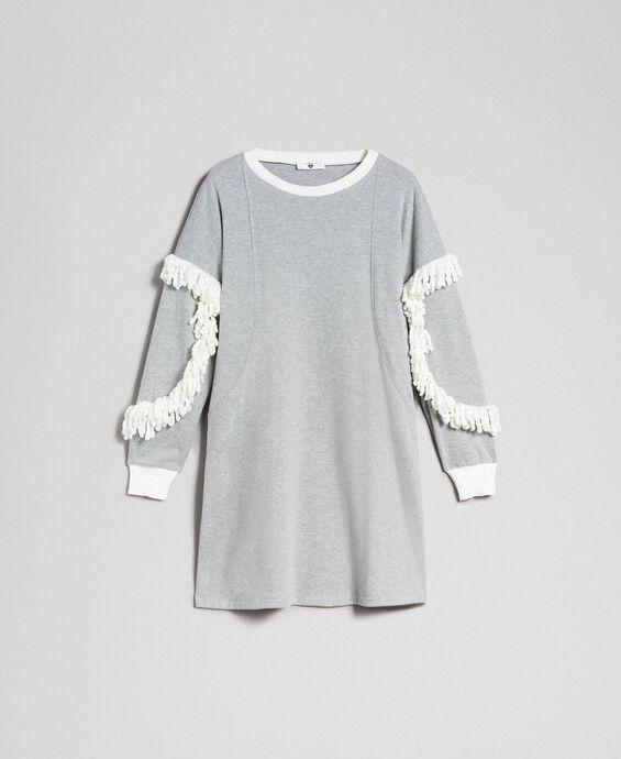 Chemise de nuit avec franges