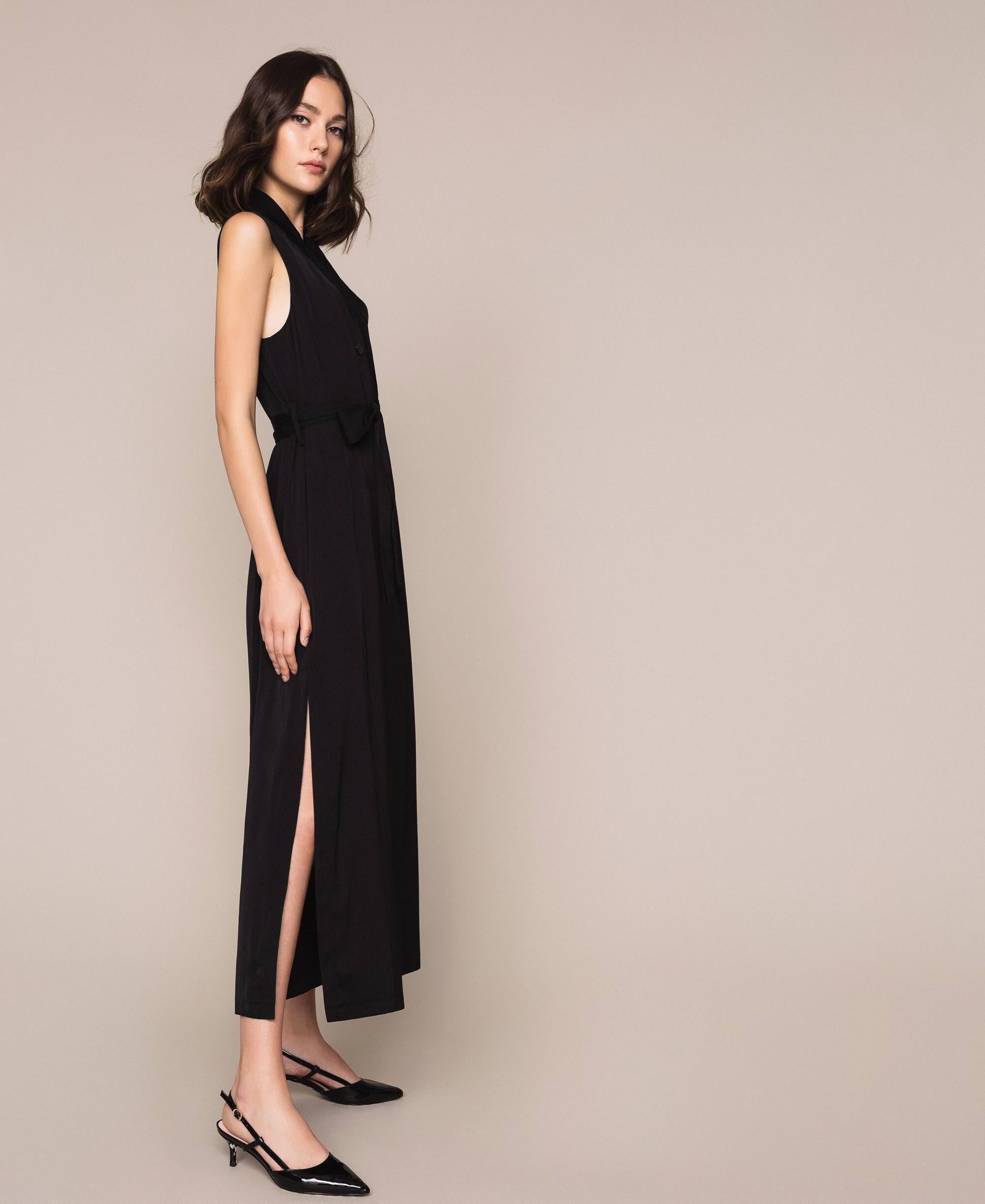 Платье Жилет Черный