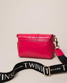 "Small Rebel bag with logo shoulder strap ""Jazz"" Pink Woman 201TO823U-03"