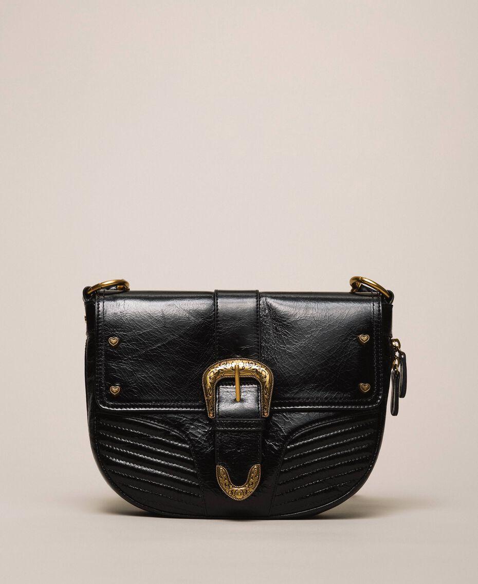 Large Rebel shoulder bag Black Woman 201TA723J-02