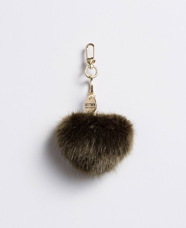 Faux fur keychain Alpine Green Woman VA8PHE-01 9a44e36675ca