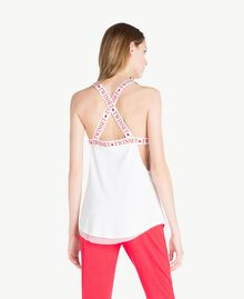 Jersey tank top White Woman LS87PP-04