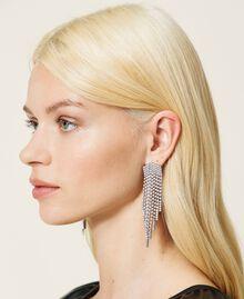 Boucles d'oreilles «Zircon» avec franges strassées Cristal Femme 212AA4120-0S