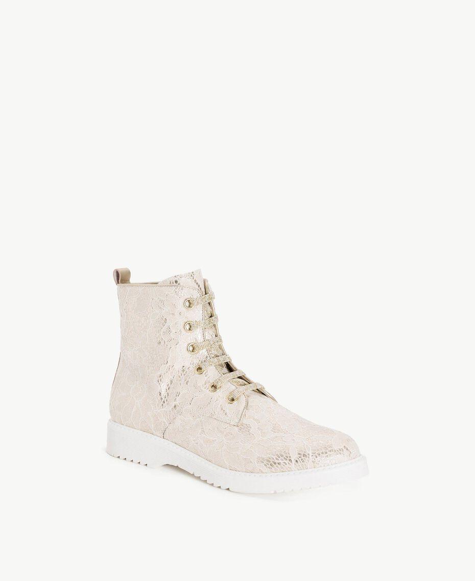TWINSET Boots dentelle Chantilly Femme CS8TBS-02