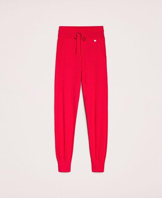 Pantalon de jogging en cachemire mélangé