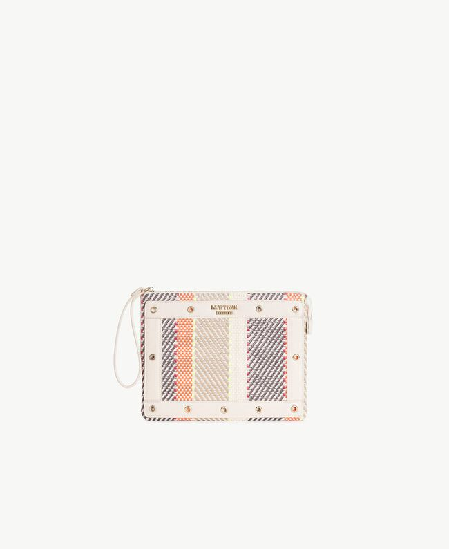 TWINSET Pochette multicolore Multicolore Crème / Café Crème / Orange Femme RS8TFE-01