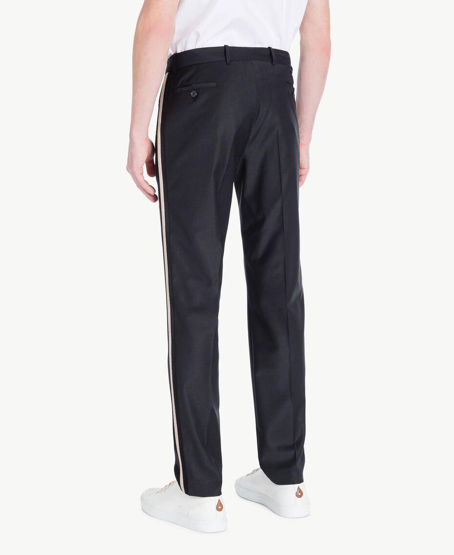 Pantalon cigarette Noir Homme US8241-03